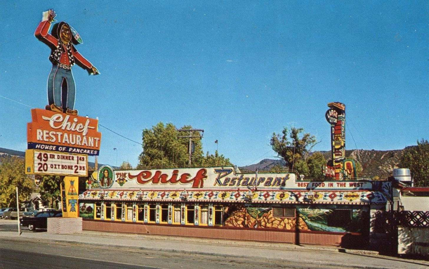 The Chief Diner - DURANGO CO - c.1955