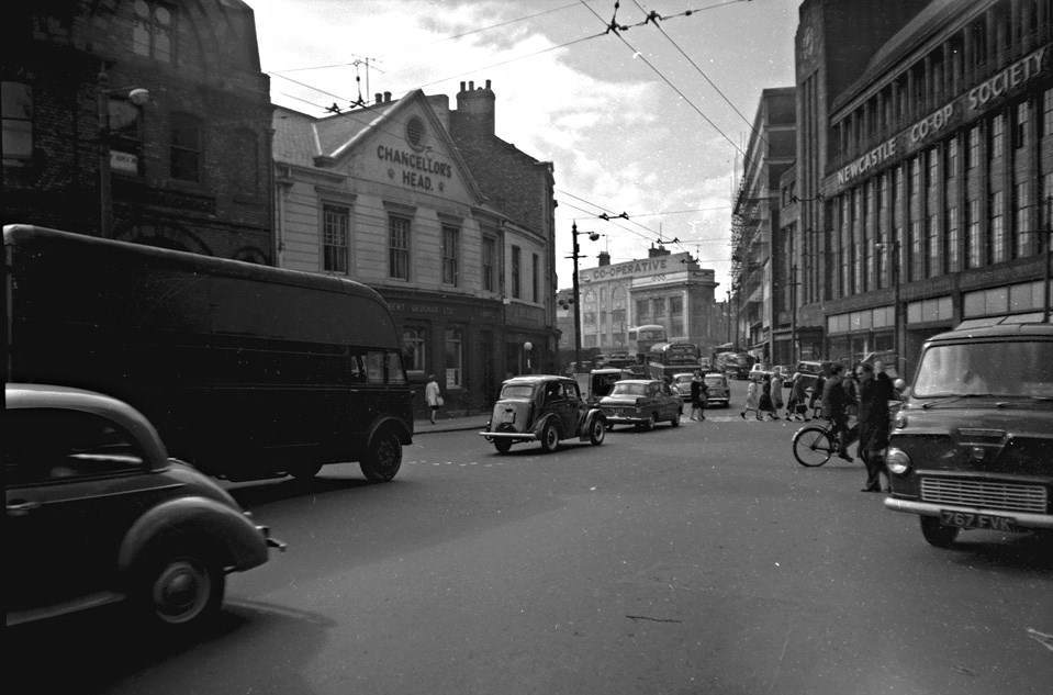 View of Newgate Street, May 1961.