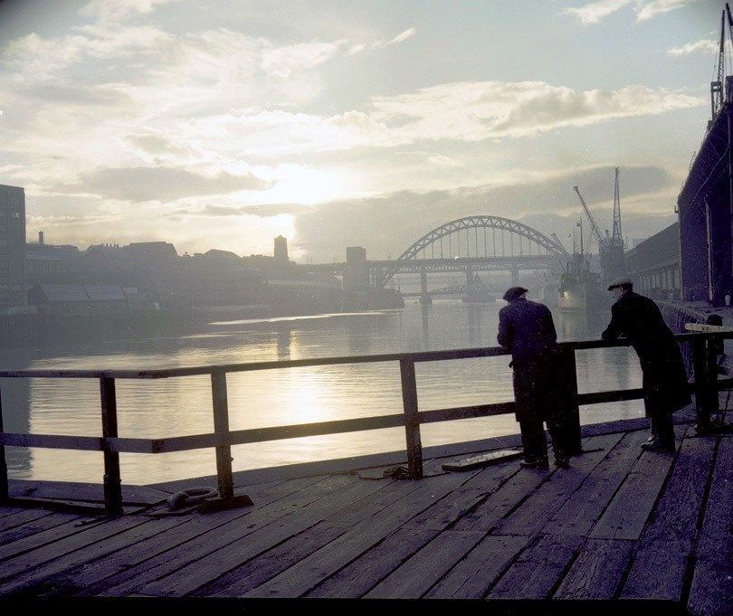 View of the Tyne Bridge, November 1959.