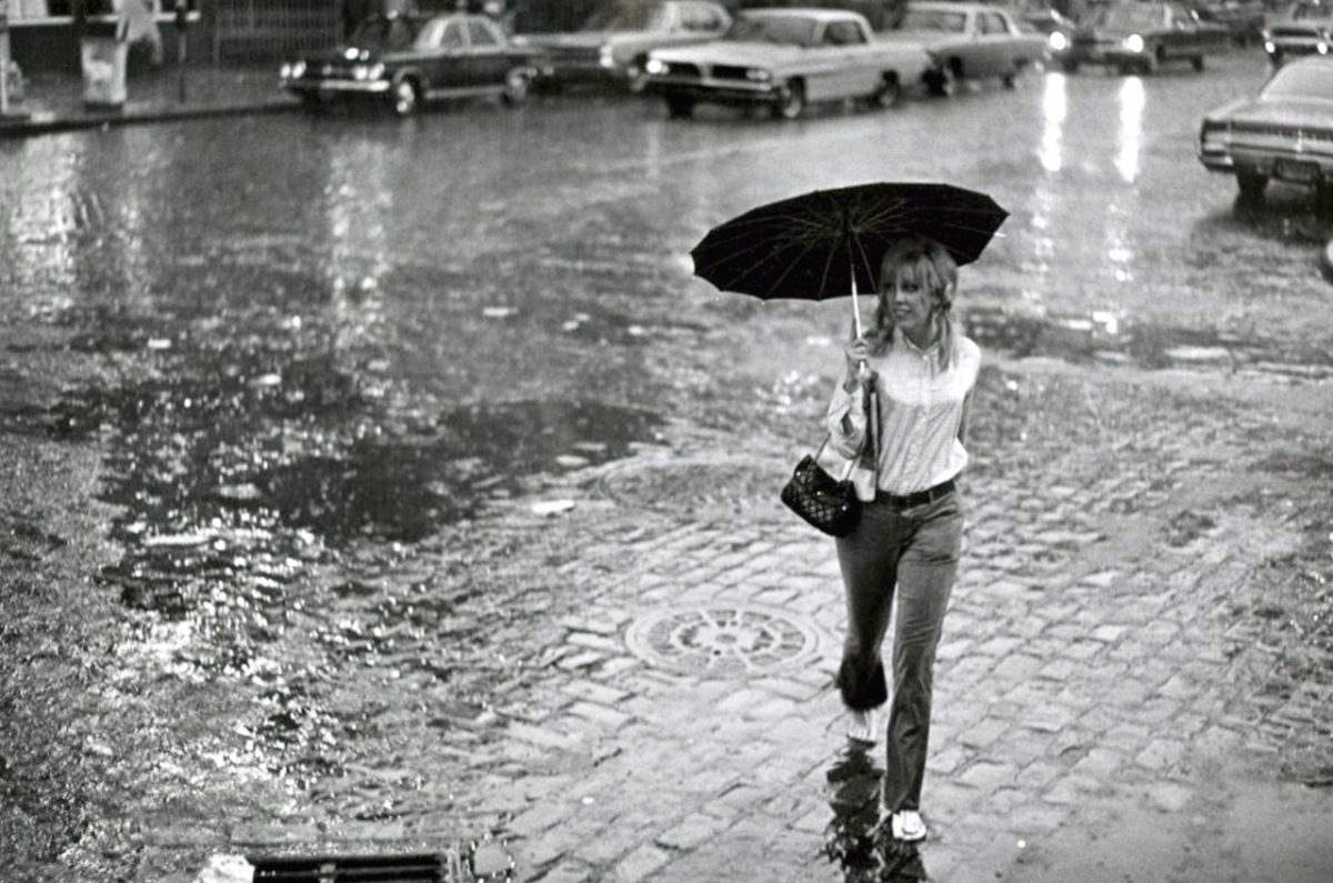 Walking in the rain photo by james jowers 1967