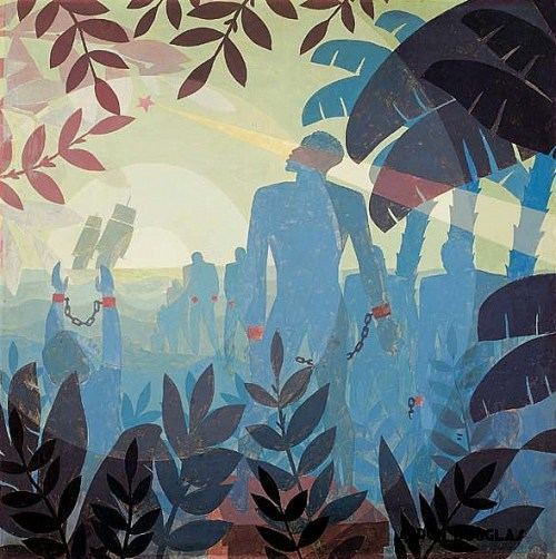 "Into Bondage"" by Aaron Douglas, 1936 (Corcoran Gallery of Art)"