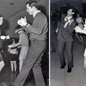 Teens Behaving Awkwardly: A Look at the 1970s High School Dance