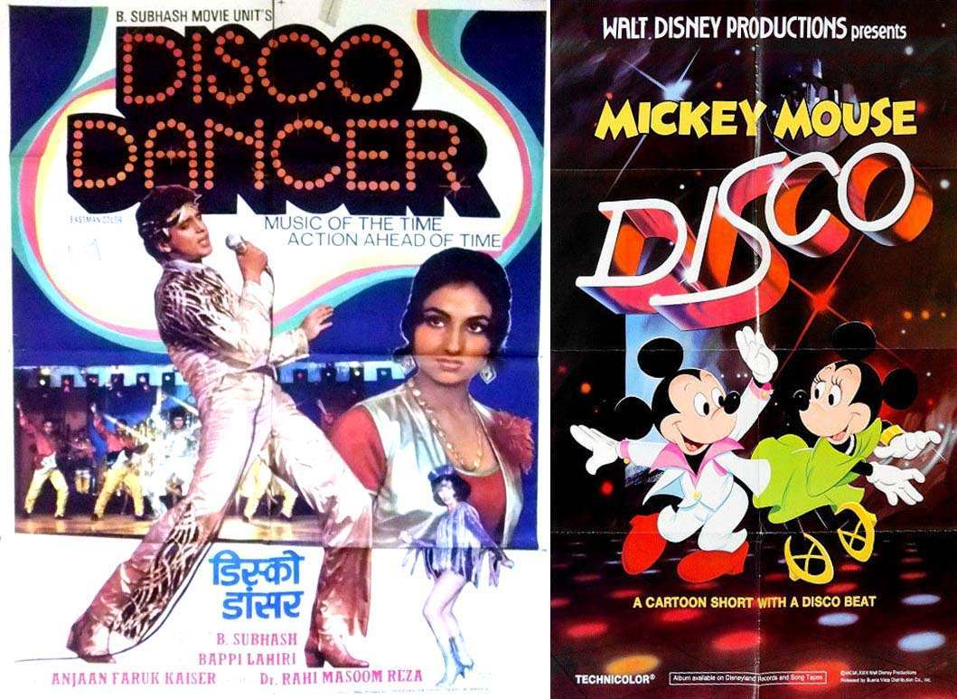 disco dancer and mickey