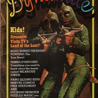 Good Vibrations: Remembering Dynamite Magazine and its Sci-Fi Covers of the 1970s