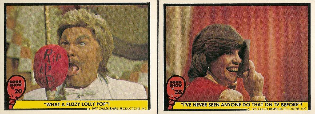gong show cards