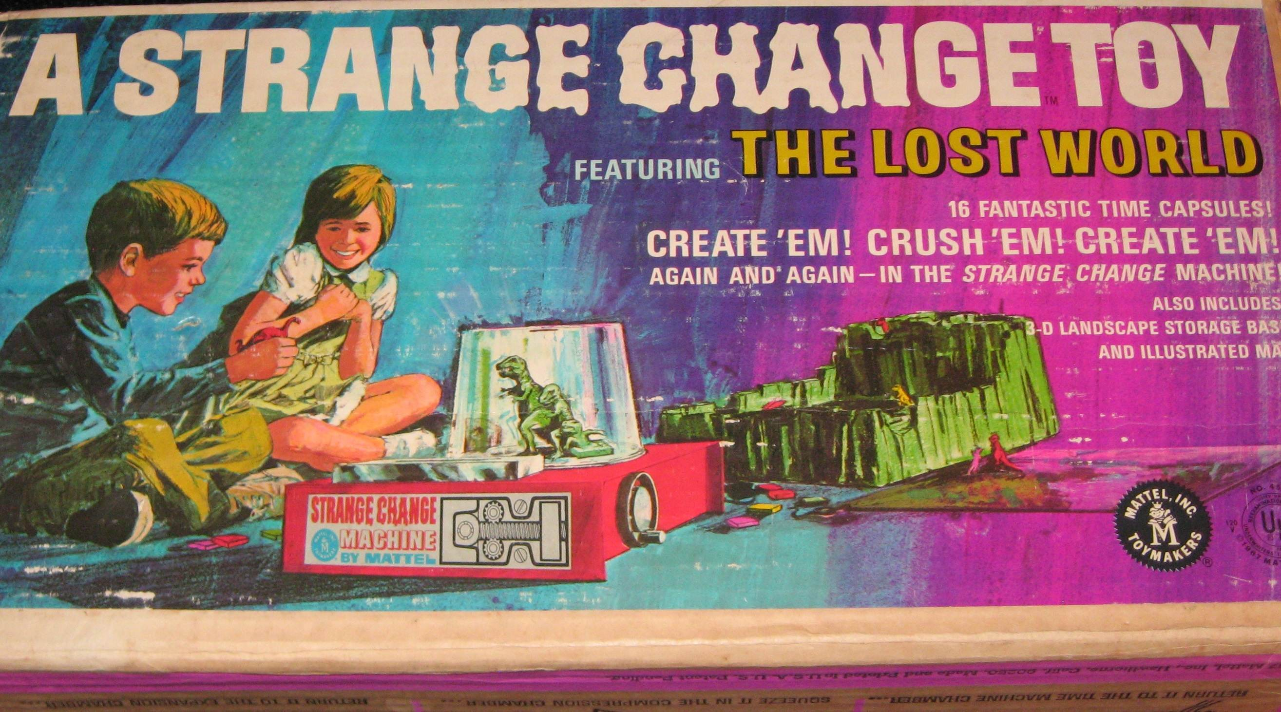 Strange Change Toy : You ll burn your fingers remembering mattel s strange
