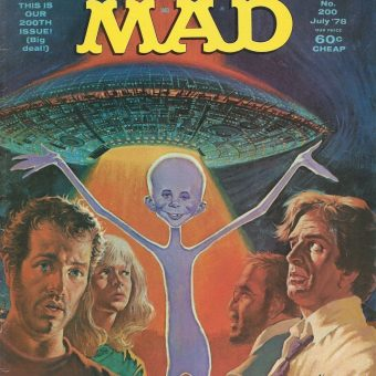 Alfred E. Neuman Goes to the Movies: A Gallery of SeventiesBlockbusters as seen in MAD Magazine