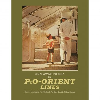 Captivating P & O Shipping Line Adverts