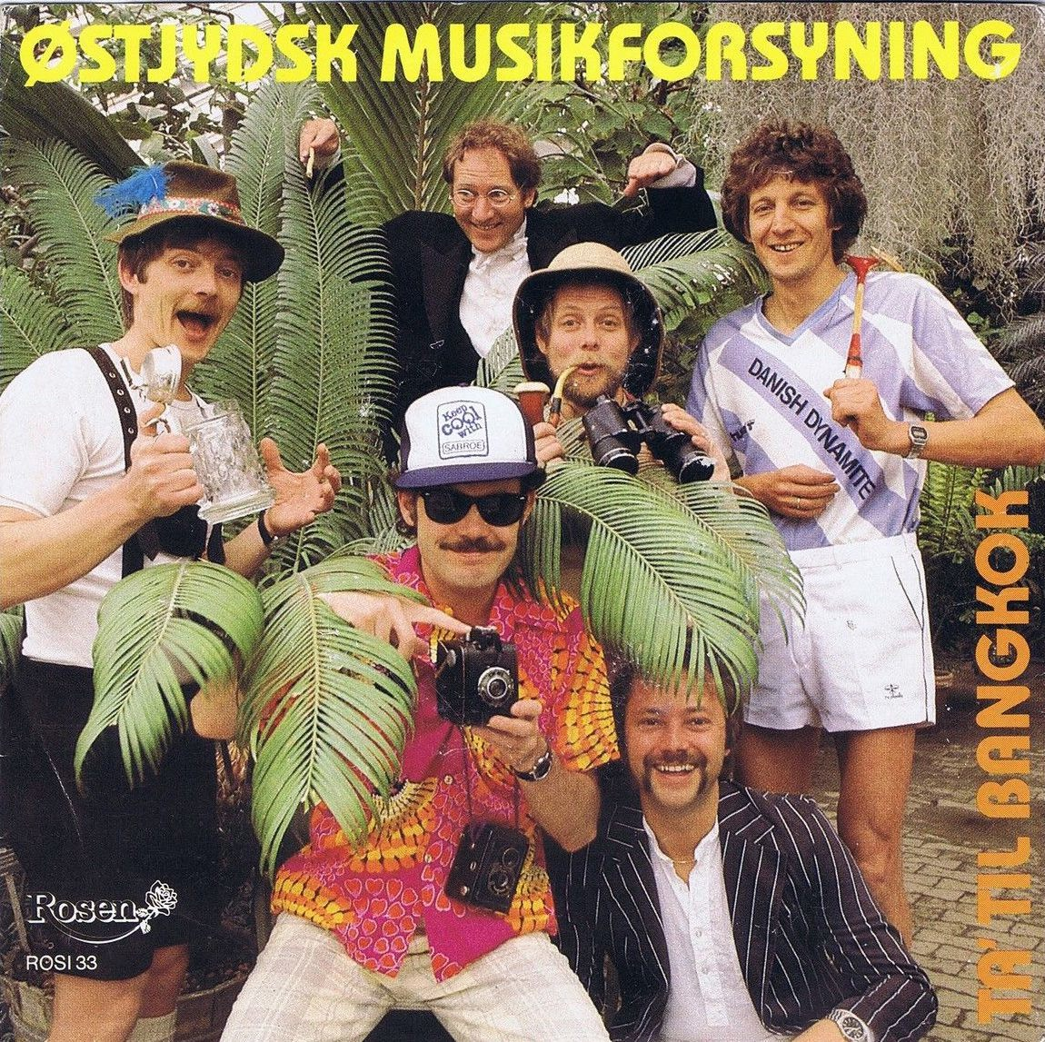 ØSTJYSK MUSIKFORSYNING Go To Bangkok Danish Pop 45PS 1985