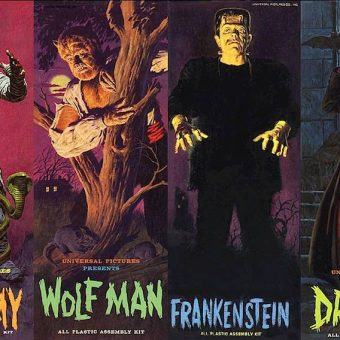 I dream of Aurora Monster Kits: Plans for building your own Frankenstein, Dracula and Wolfman