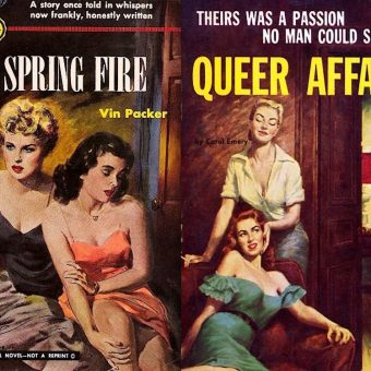 Fabulous Covers from Lesbian Pulp Fiction 1950-1970