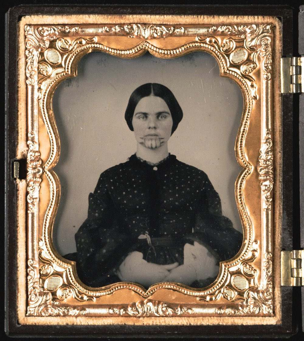 Olive Oatman Was The 1850s Girl With A Tattoo On Her Face Flashbak