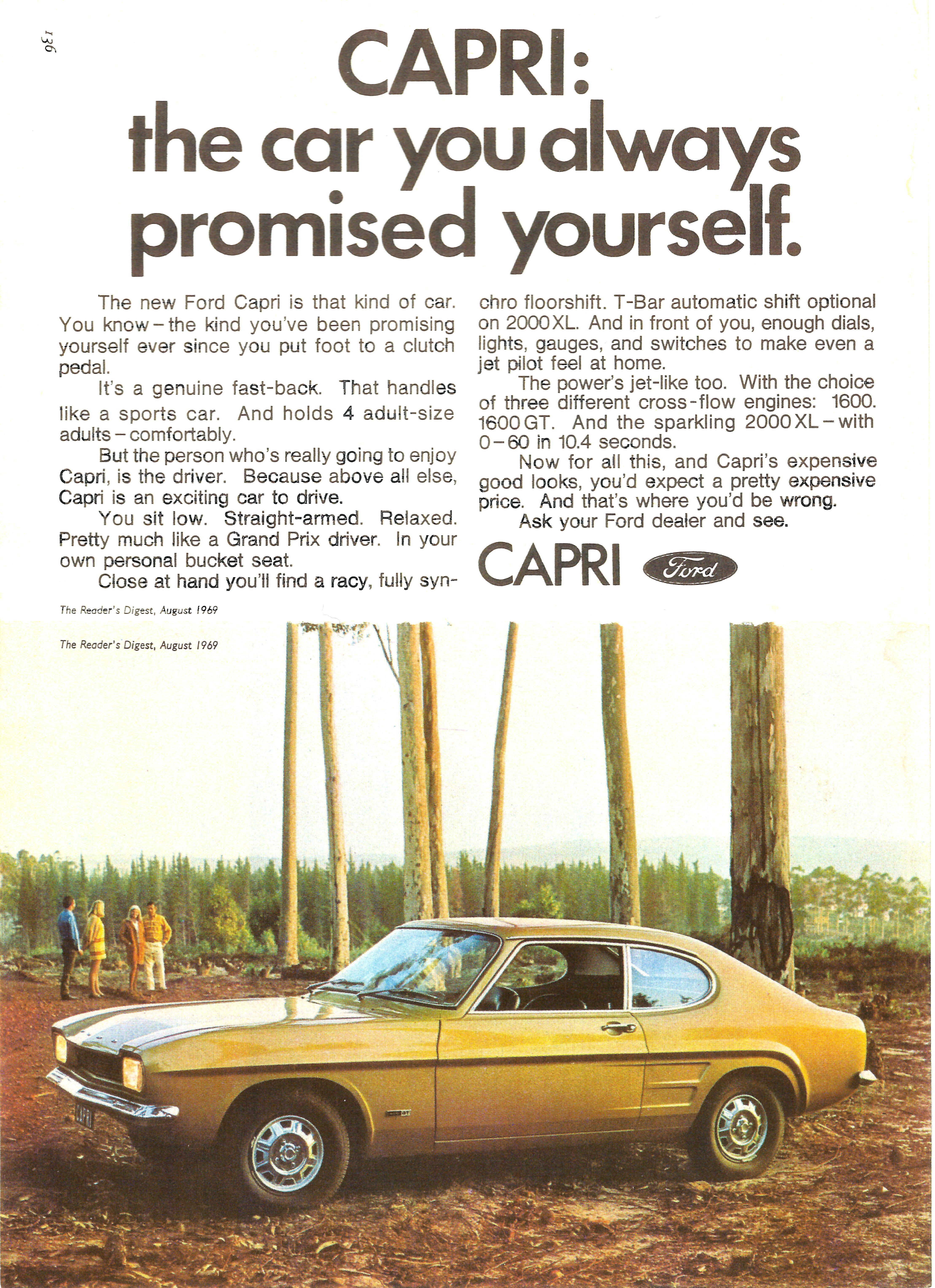 1969 Ford Capri 1600 GT (South Africa)