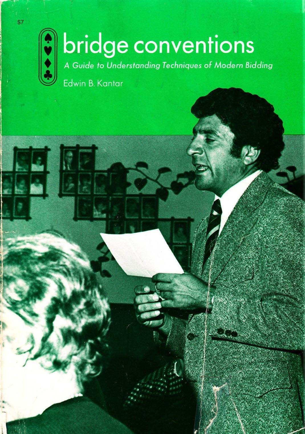 1972 Bridge Conventions guide to Modern Bidding
