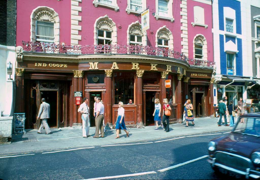 1976 - London - Kings Road Ind Coope Markham