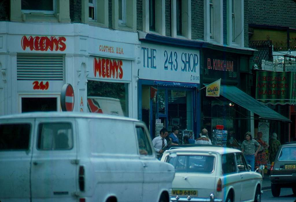 1976 - London - Kings Road Meeny's