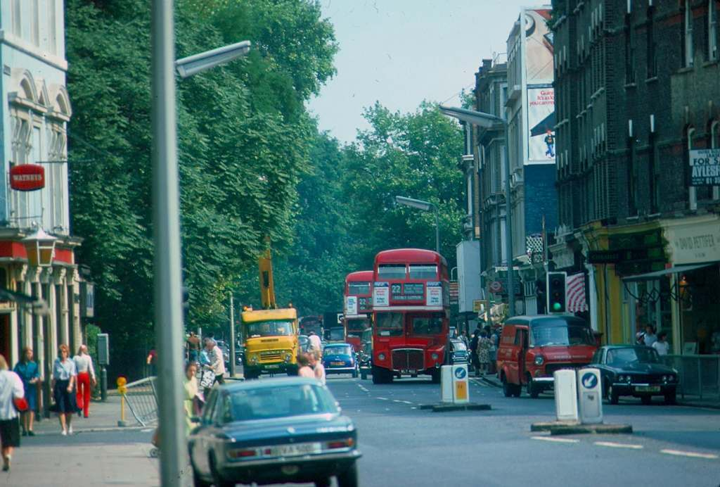 1976 - London - Kings Road bus