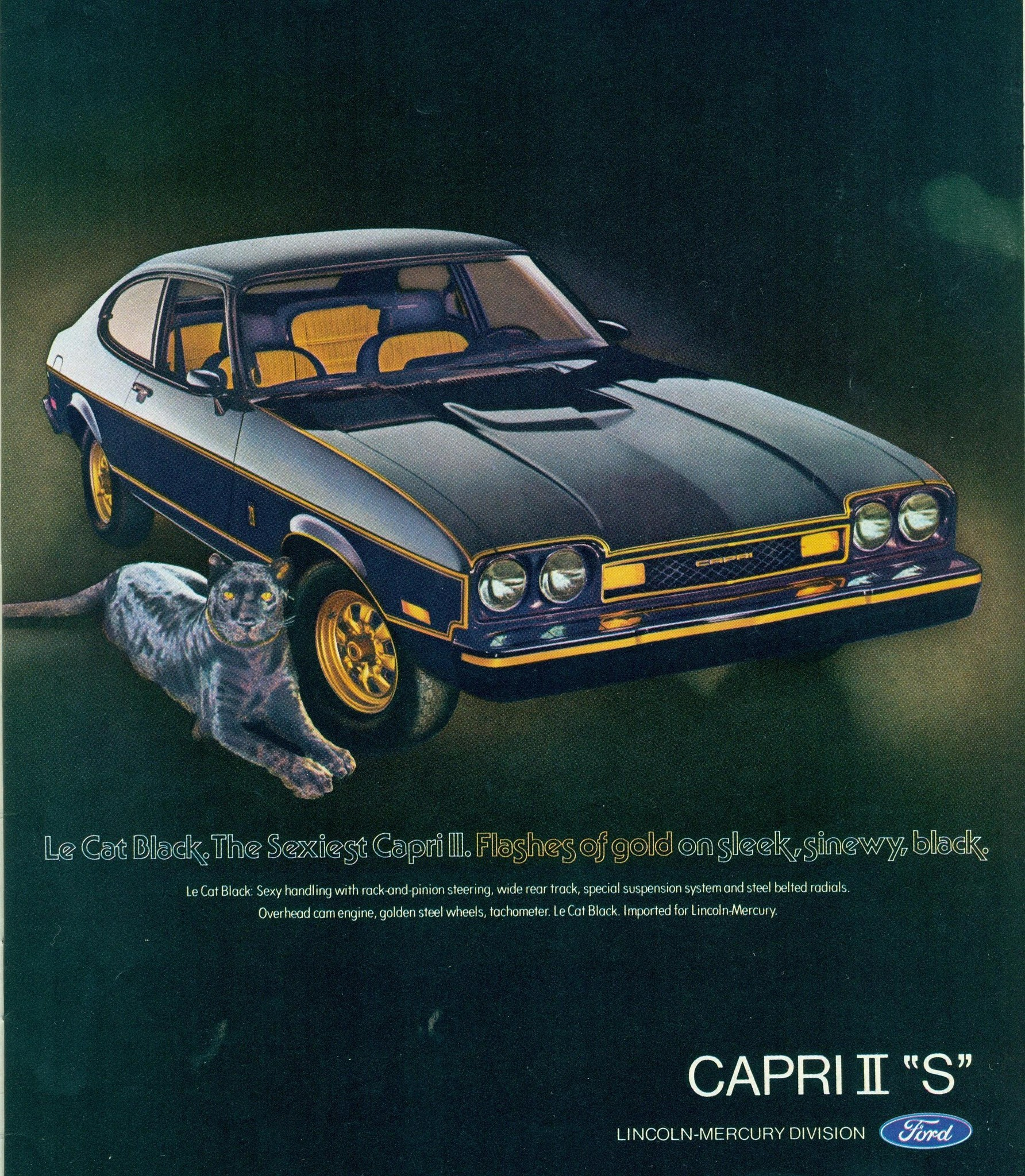 The Car You Always Promised Yourself Ford Capri Ads From