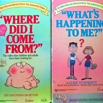 """Where Did I Come From?"": Watch And Play Sex Education Books, Tapes and Games"