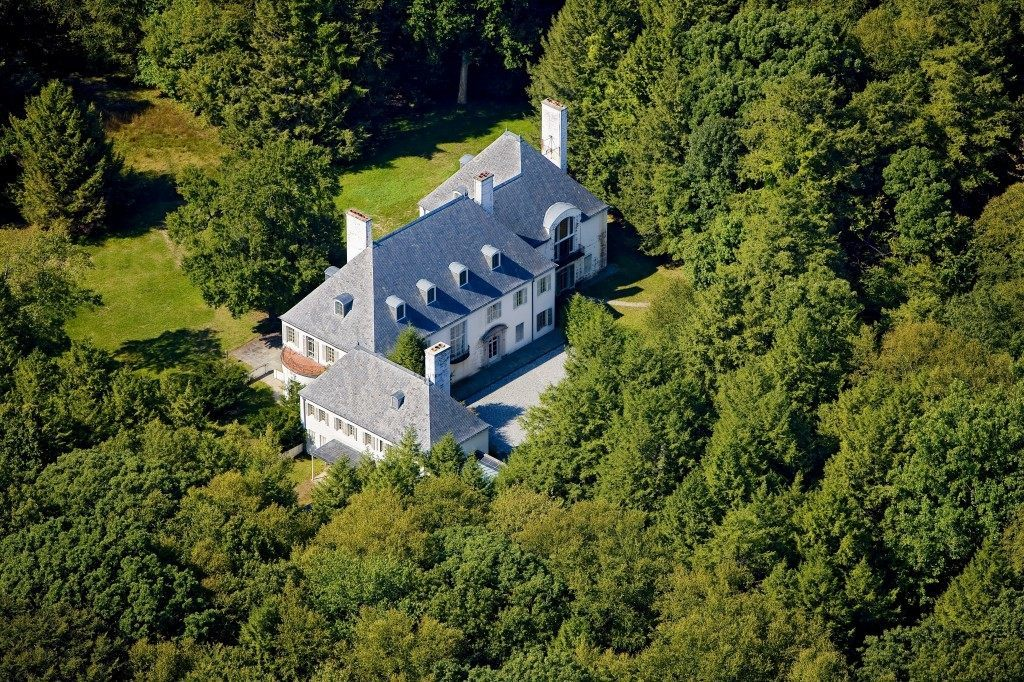 As her mother had bought a California ranch as a refuge during World War II, Huguette Clark during the Cold War bought this Connecticut retreat, Le Beau Château, in New Canaan. It sat empty for more than sixty years. When she offered it for sale, so she could bestow more gifts on her friends and staff, it led to the disclosure of her reclusive lifestyle.