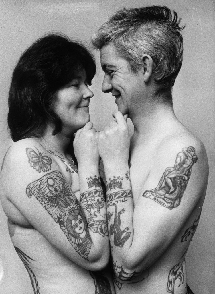 Wonderful Women With Wicked Tattoos 1900-2000 - Flashbak-7572