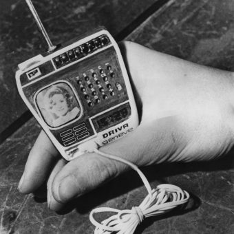 The 1976 TV Watch By Driva Geneve of Switzerland