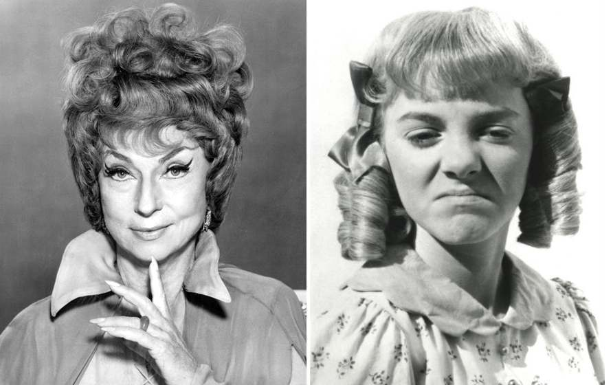 Agnes_Moorehead_Bewitched_Alison Arngrim Little House on the Prairie