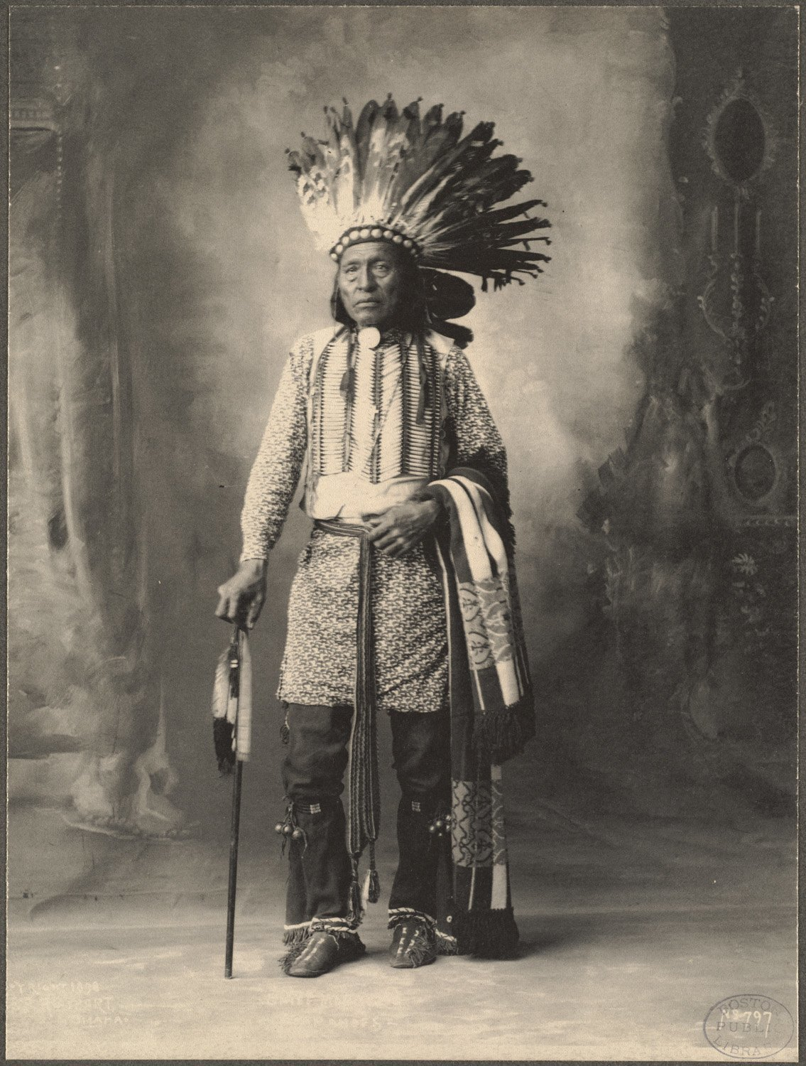 Arapahoe Chief, 1899. (Photo by Frank A. Rinehart)