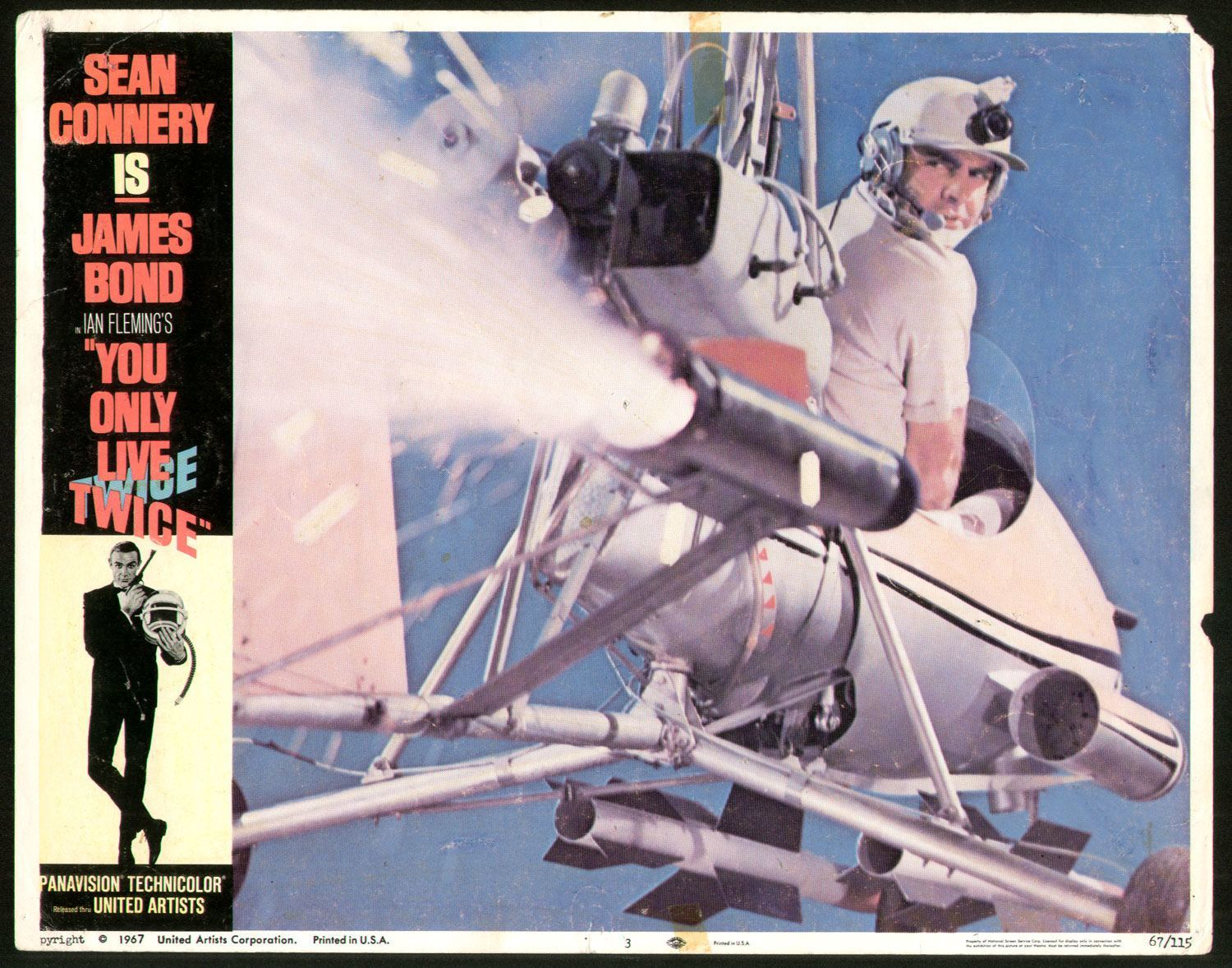Autogiro lobby card You Only Live Twice