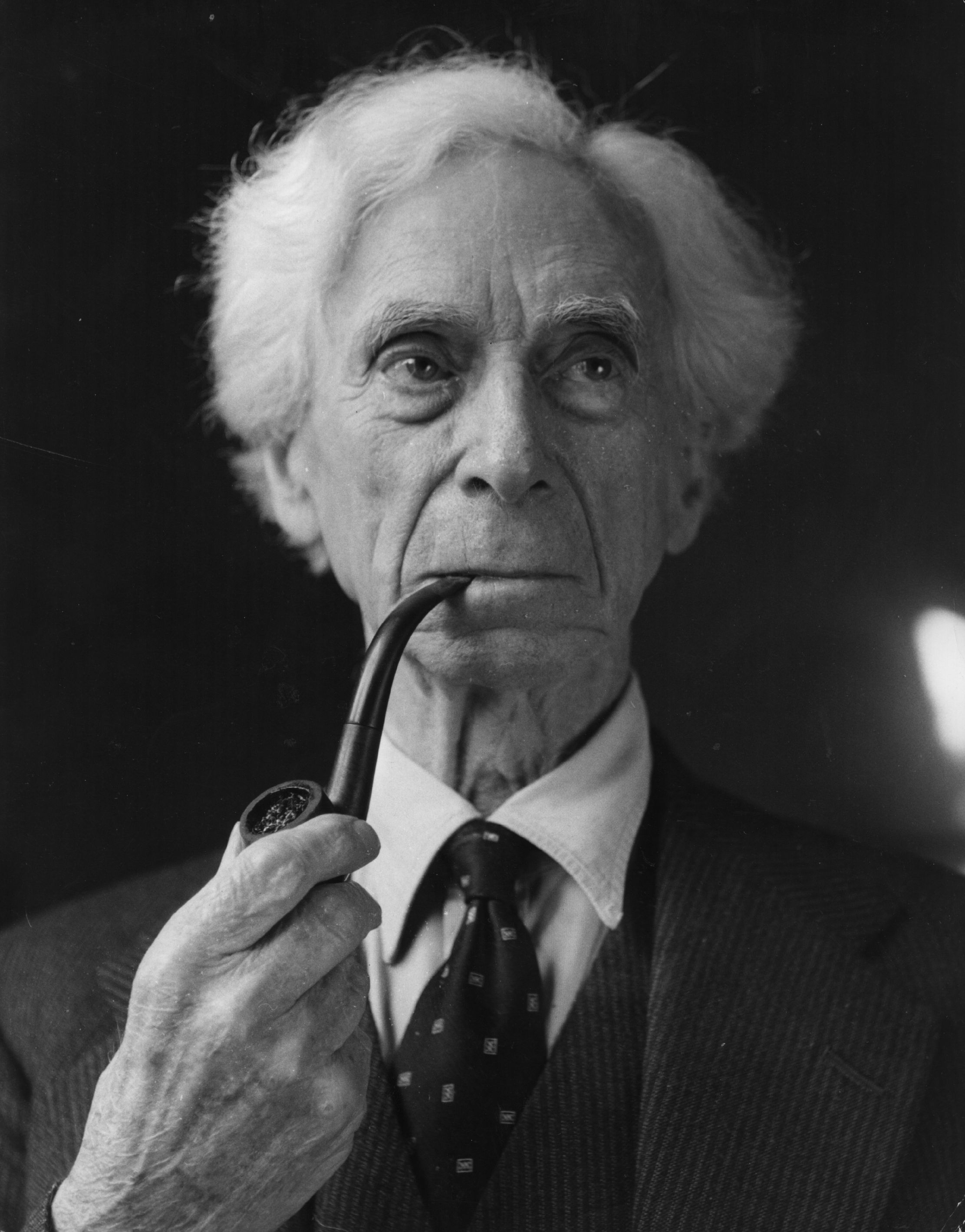17th June 1957, British mathematician and philosopher Bertrand Russell (1872 - 1970). (Photo by John Drysdale/Keystone/Getty Images)