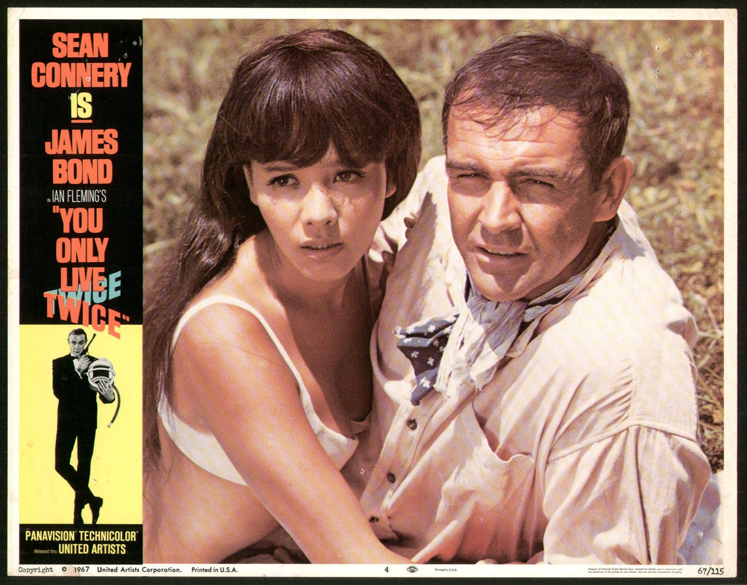 Bond and girl lobby card