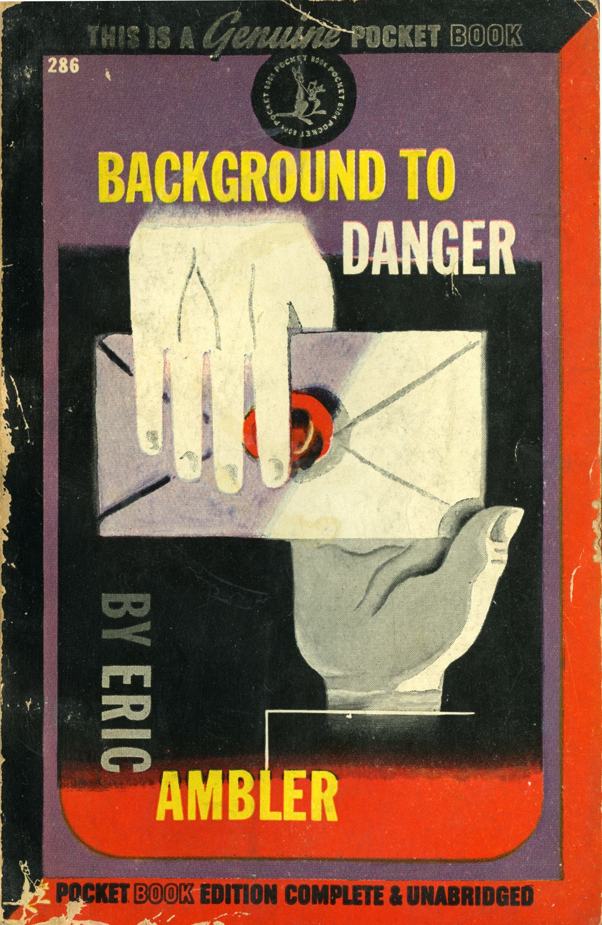 'Background to Danger' by Eric Ambler,