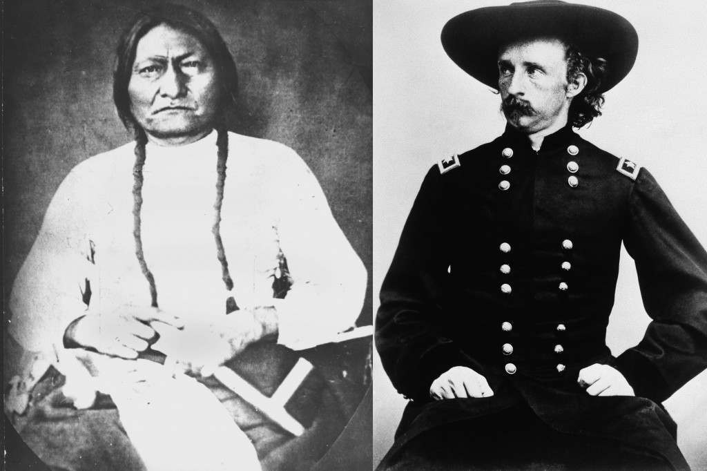 General Custer and Sitting Bull