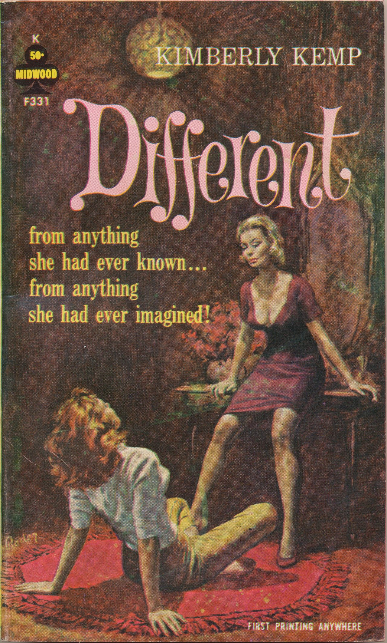 from Keegan gay pulp fiction paperback