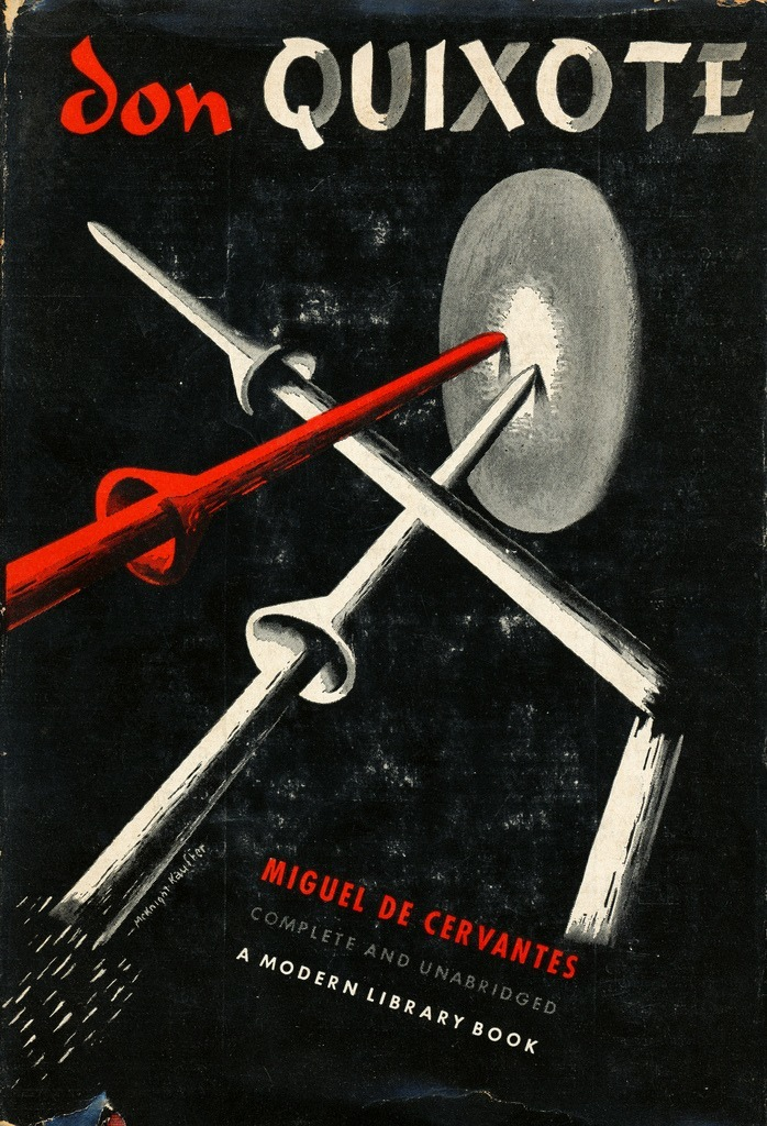 Don Quixote by Miguel de Cervantes. Modern Library, 1958.