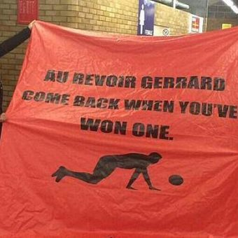 A history of Manchester United banners