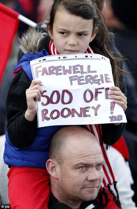 manchester united rooney banner