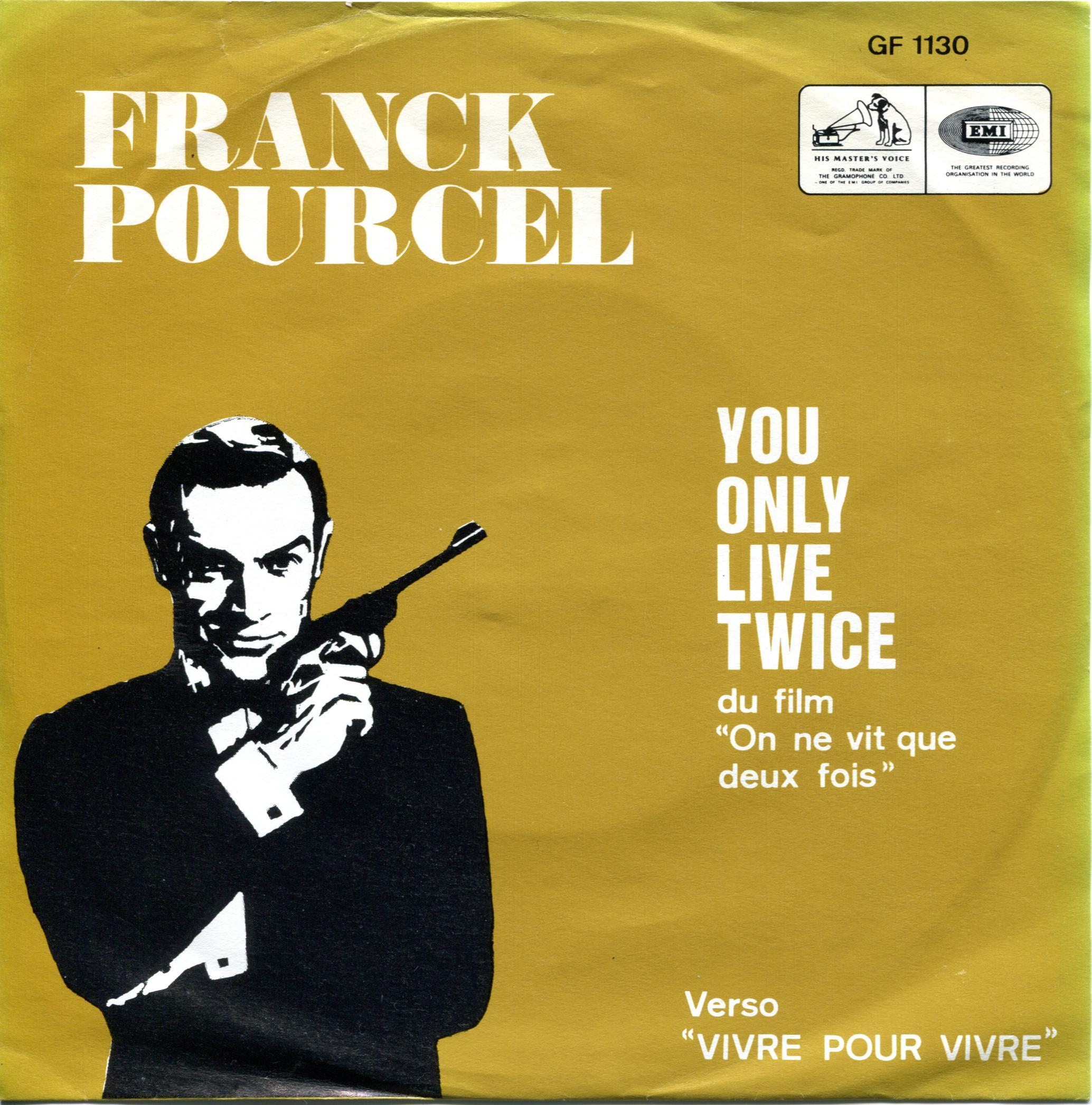 Franck Pourcel You Only Live Twice EMI