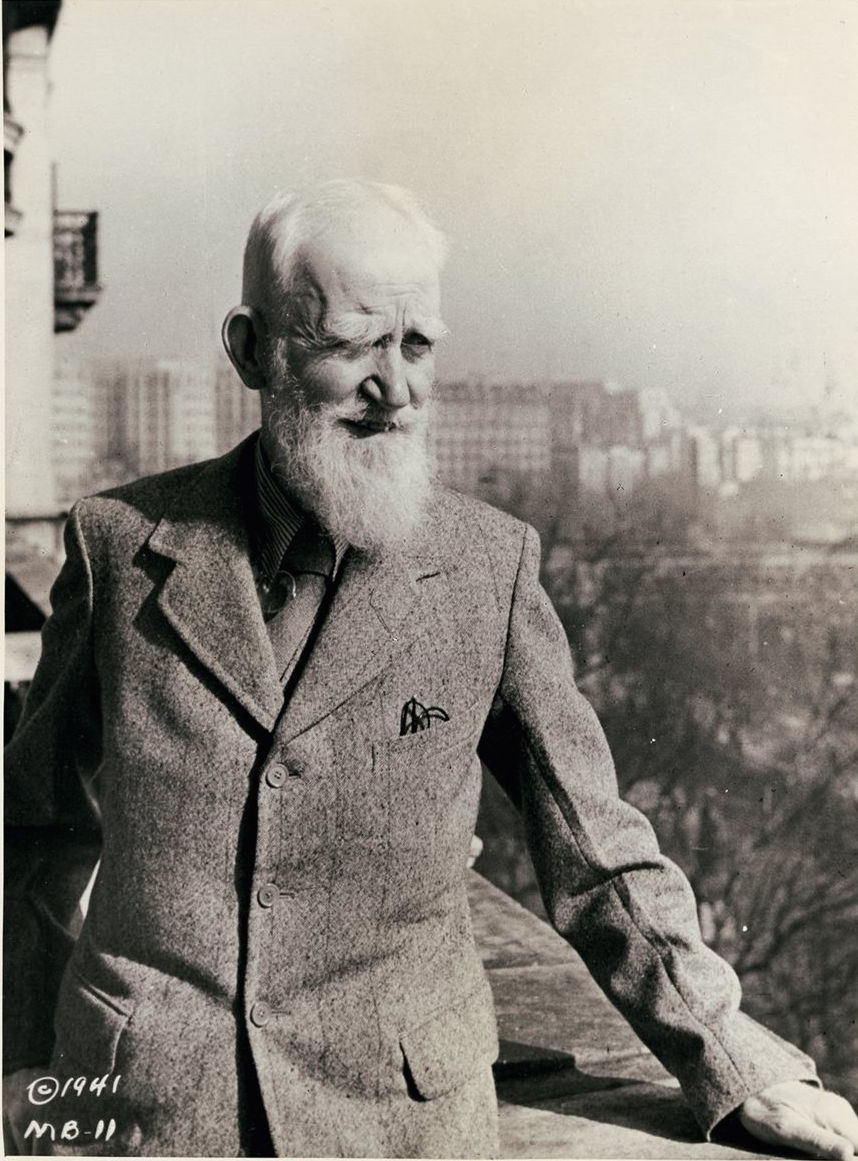 George Bernard Shaw in 1941.