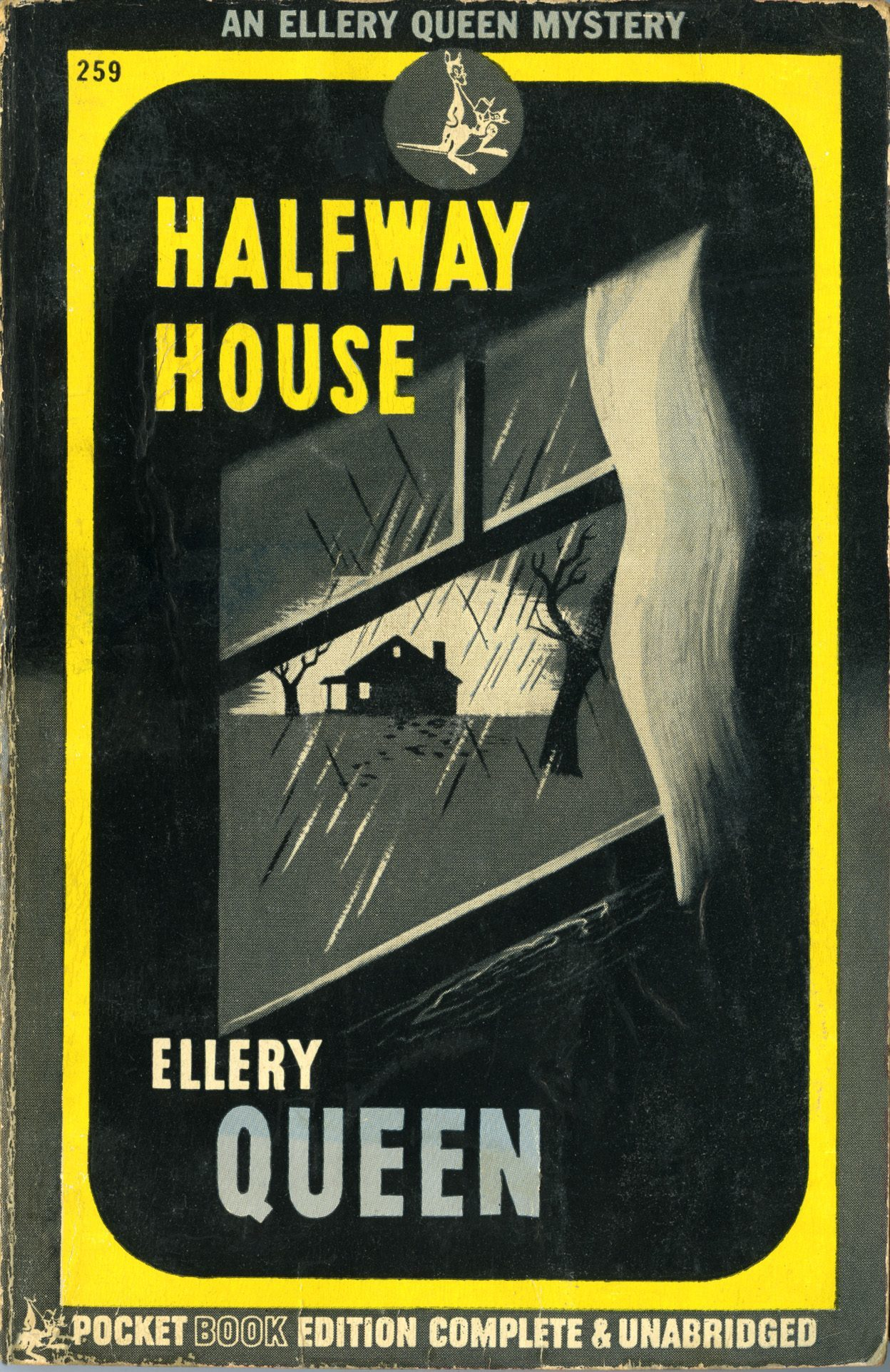 'Halfway House' by Ellery Queen, Pocket Books, January 1945.