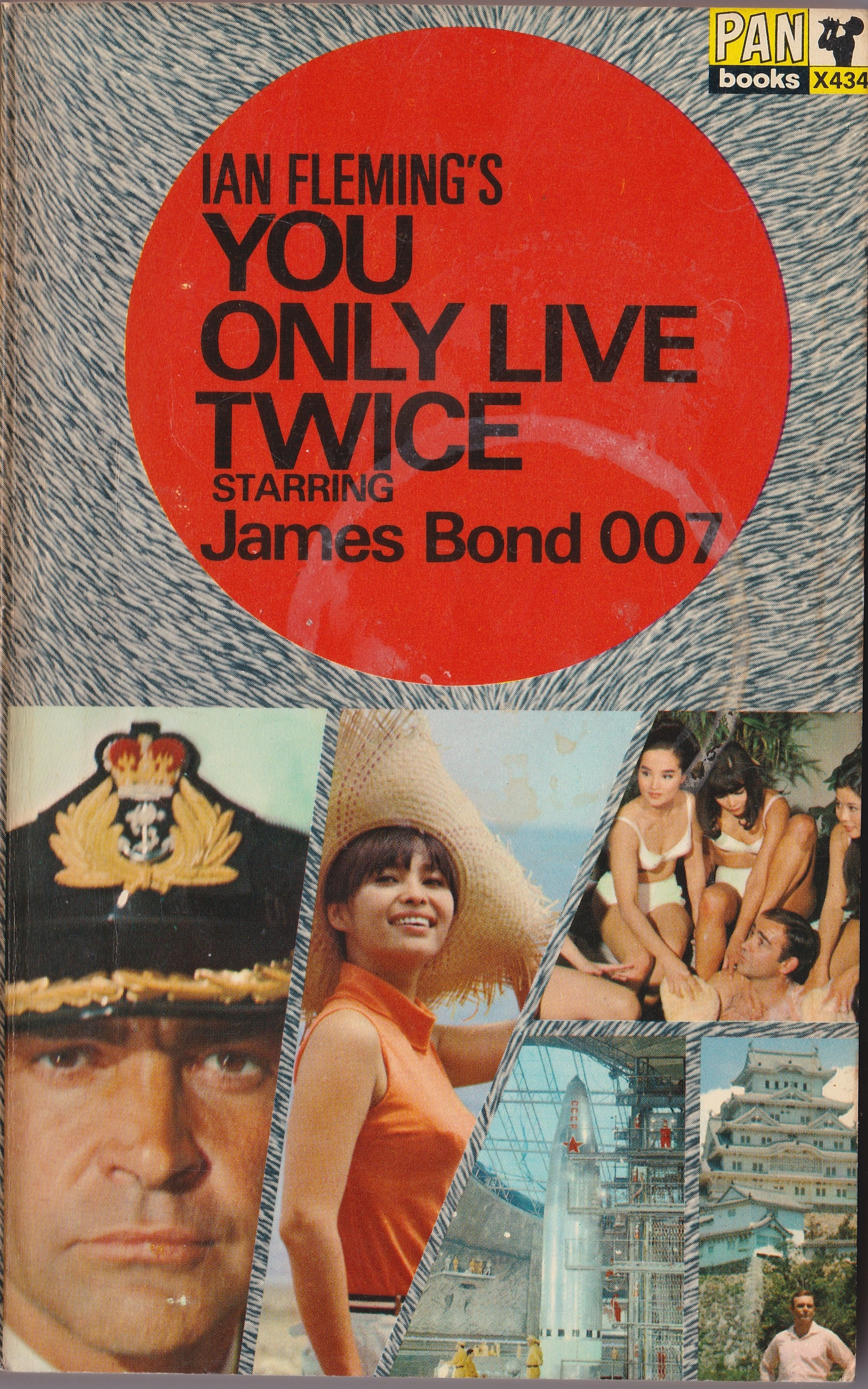 Ian Fleming: You only live twice. Pan Books 1966 (2nd printing)