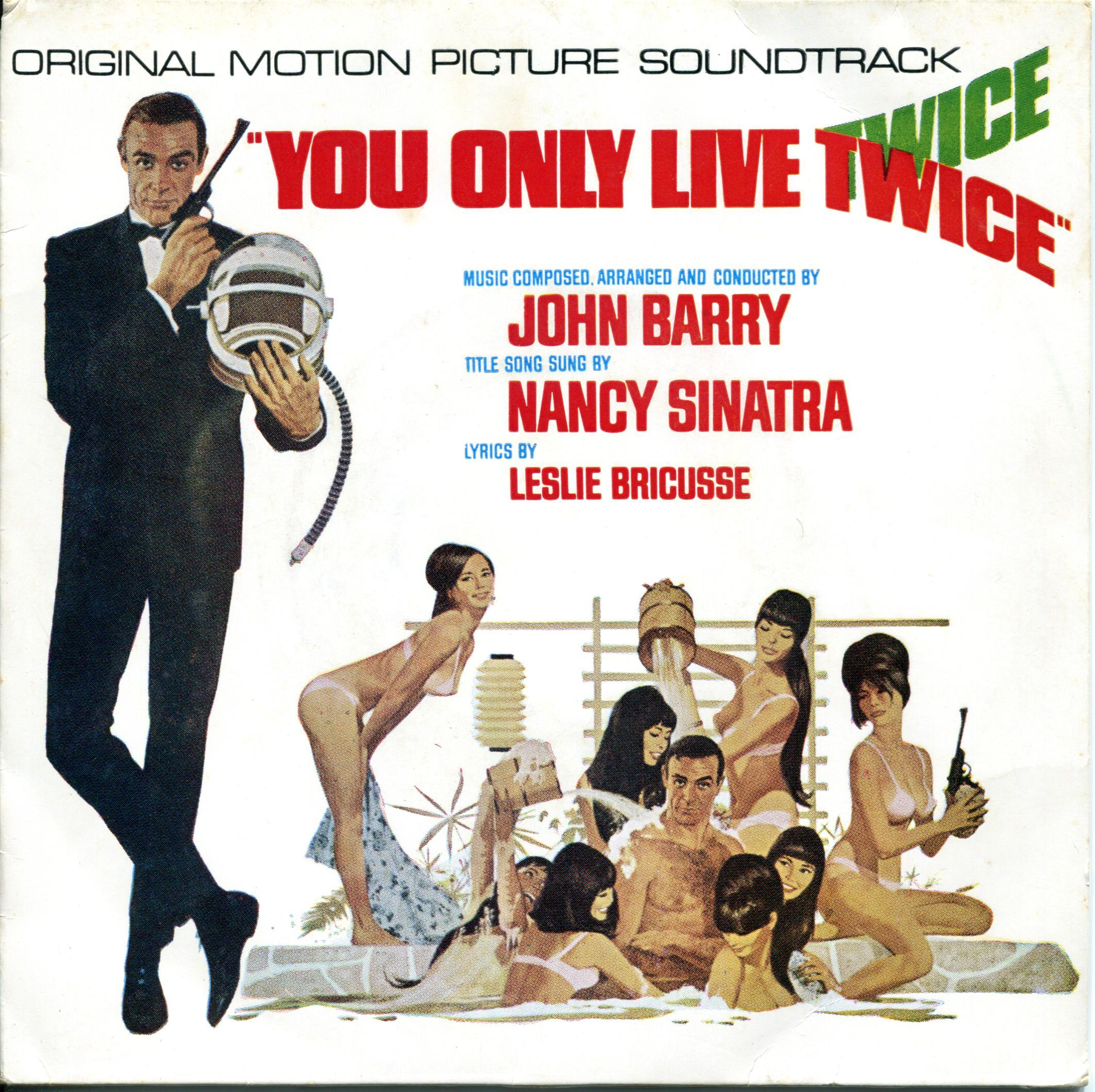 John Barry You Only Live Twice original motion picture soundtrack