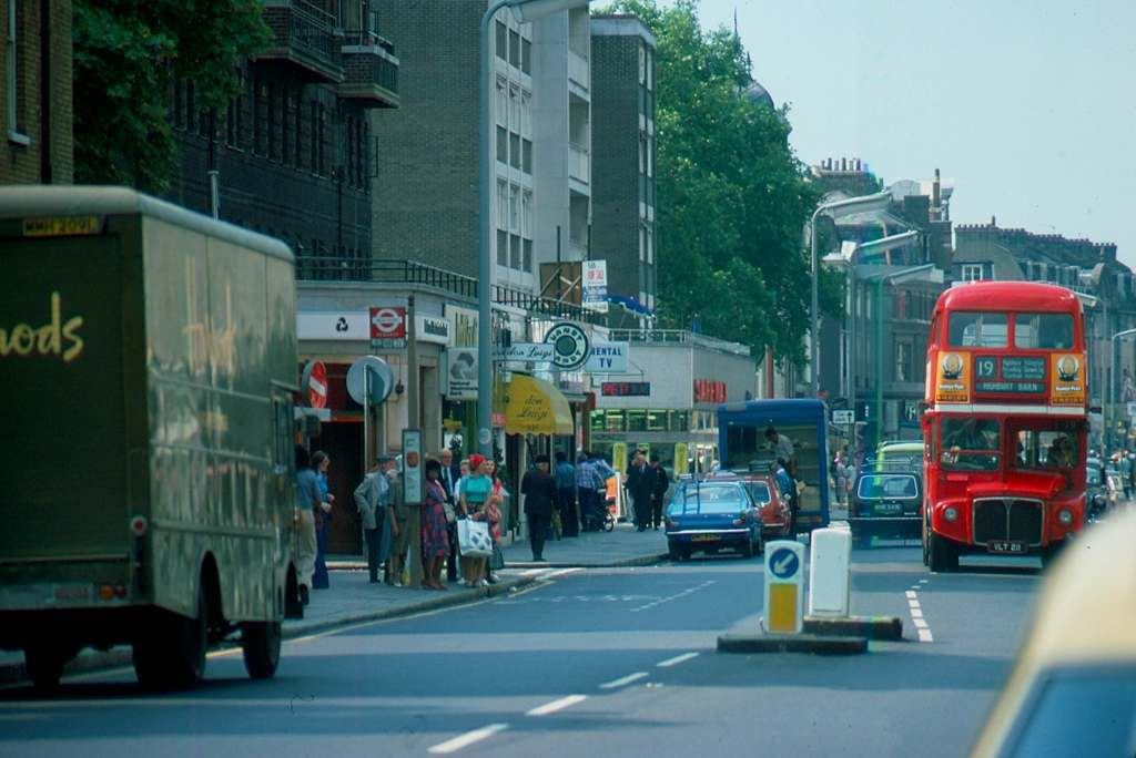Kings Road 19 Bus 1976