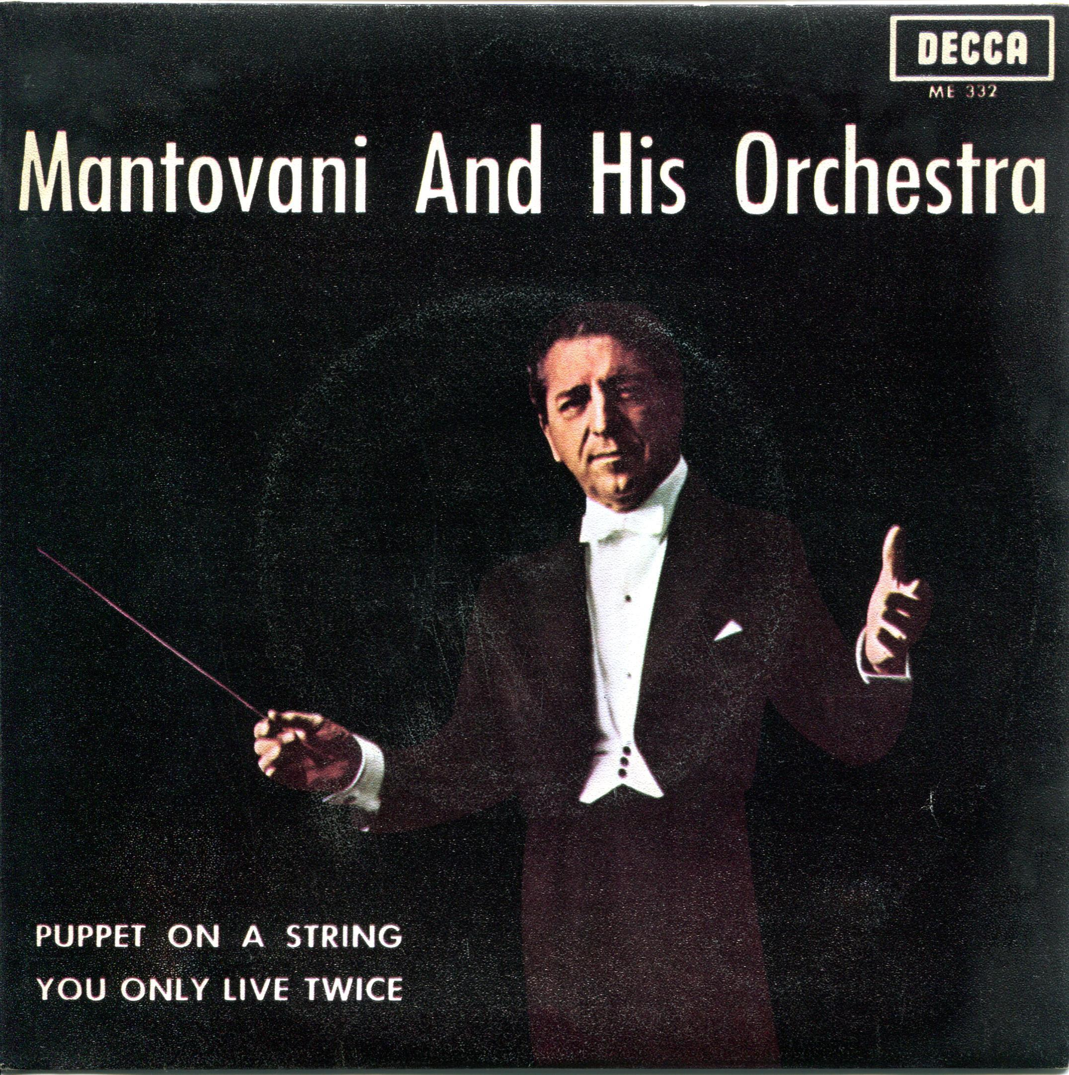 Mantovani and his Orchestra You Only Live Twice