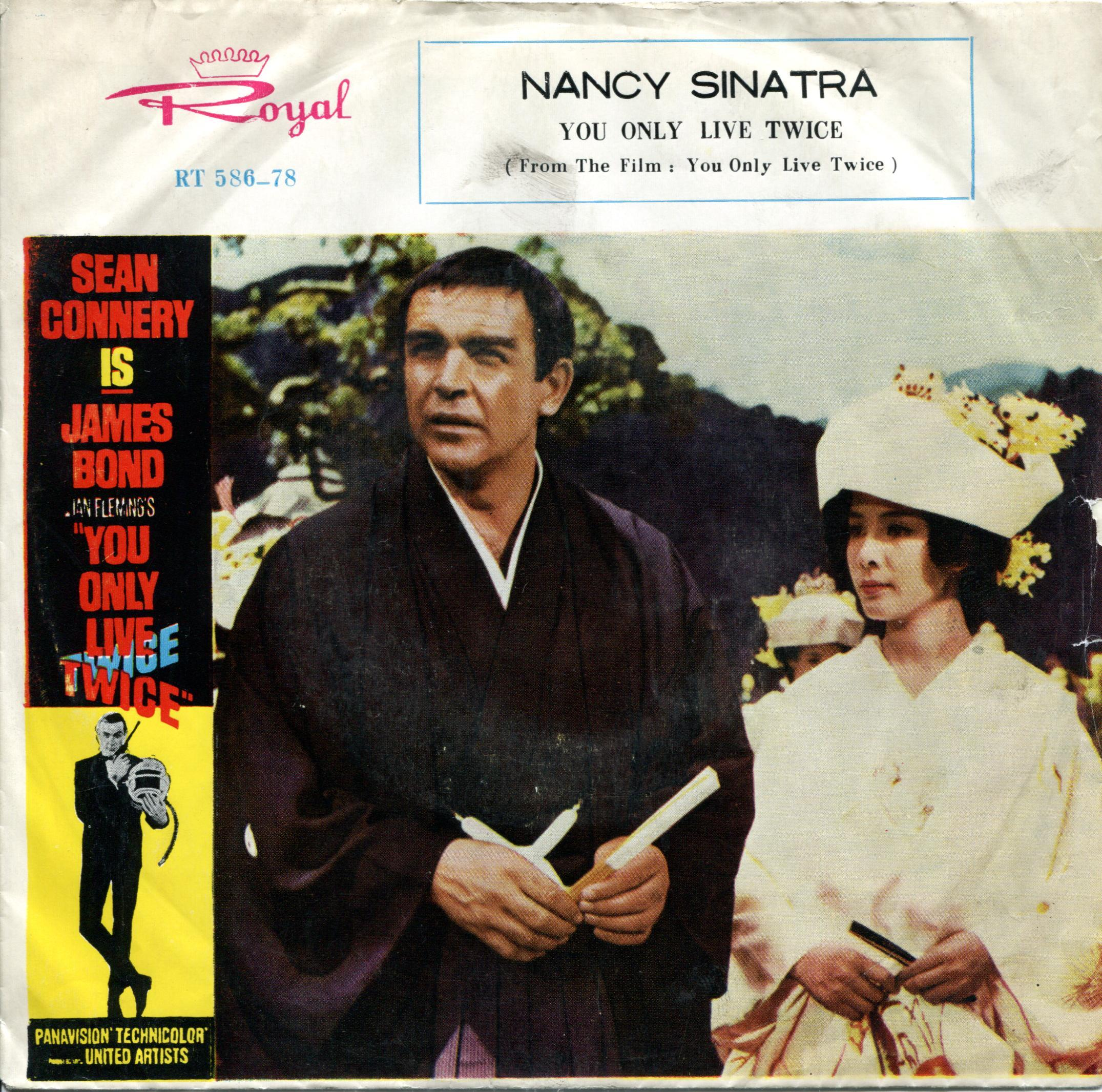 Nancy Sinatra You Only Live Twice Royal