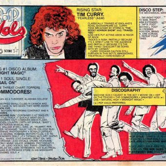 Pop Idols and the Disco Scene: Newsprint Time Capsules From 1979