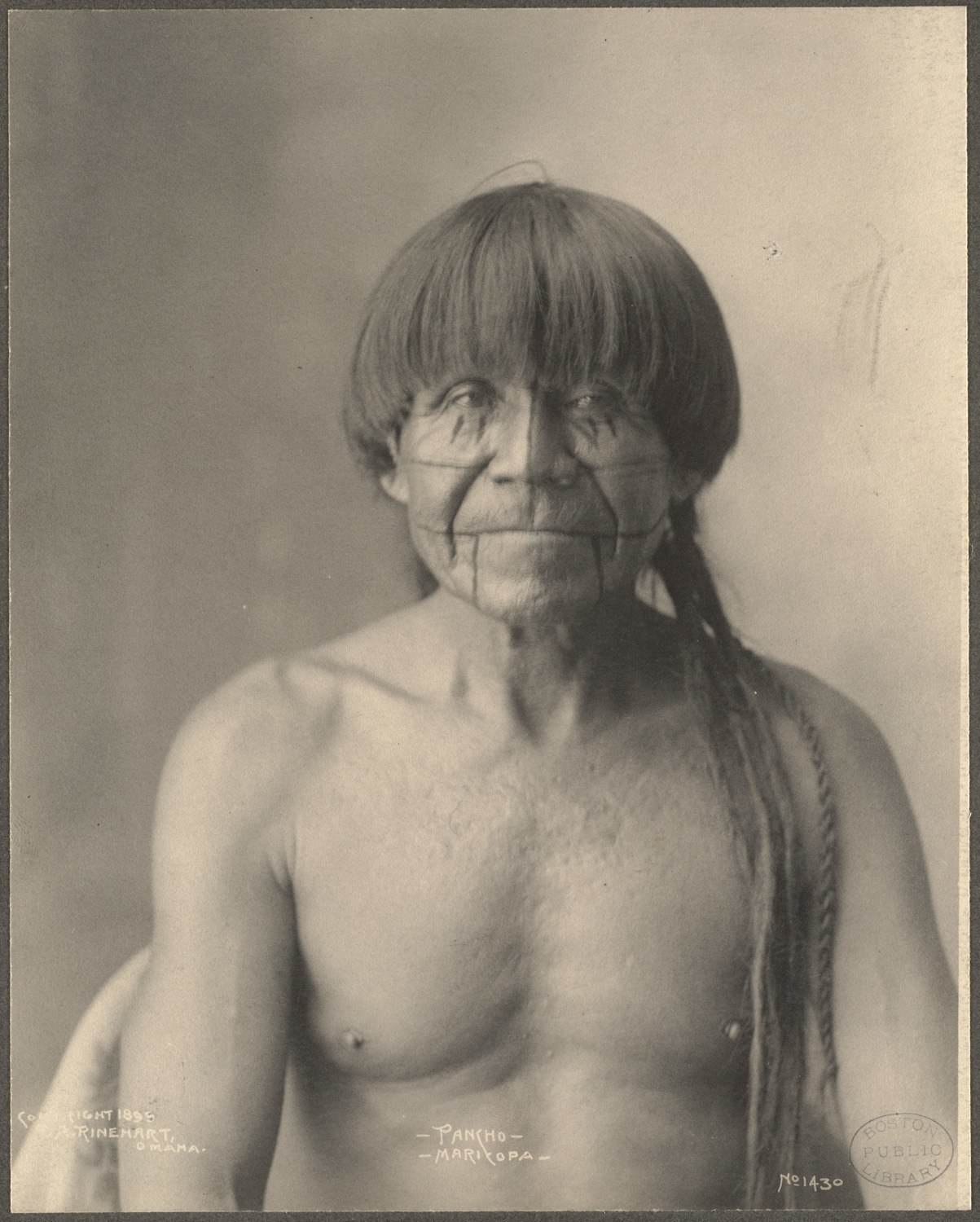 Pancho, Maricopa, 1899. (Photo by Frank A. Rinehart)