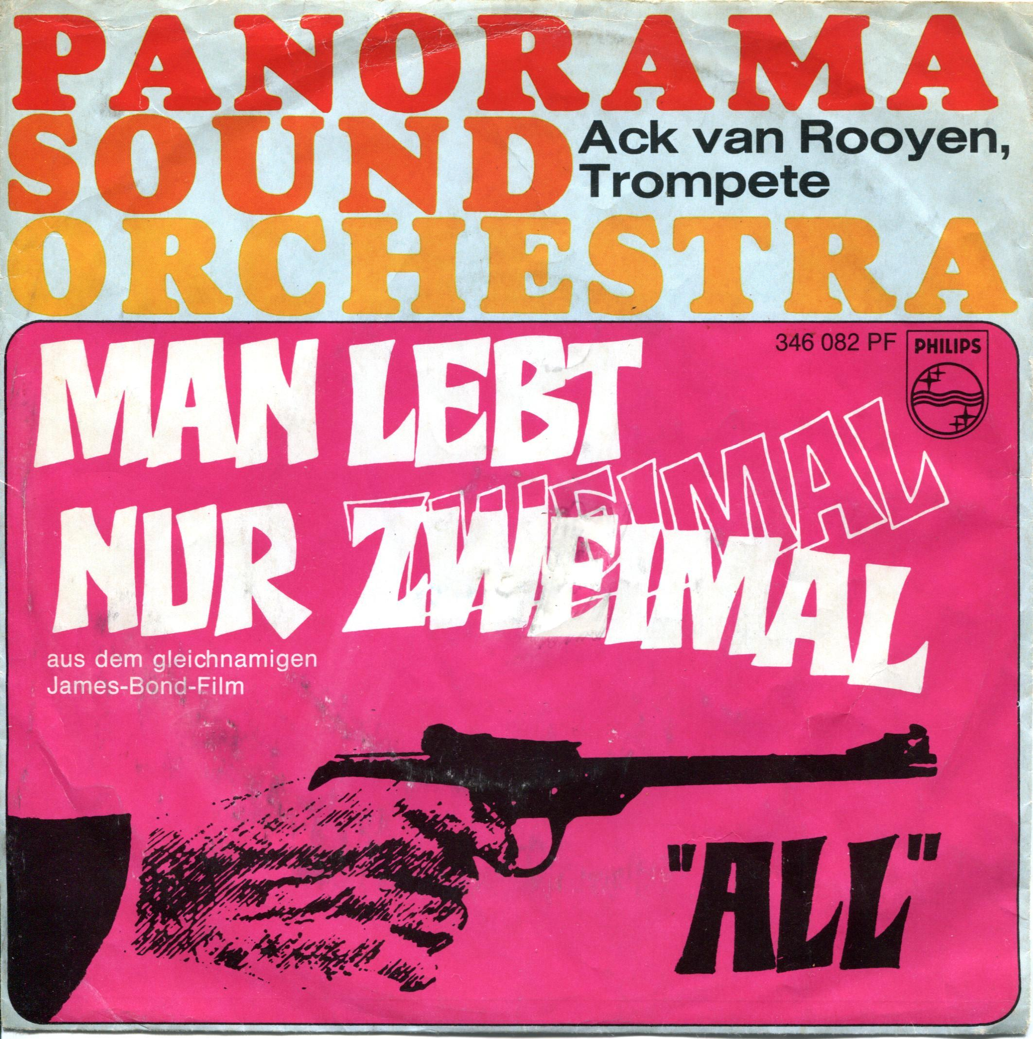 Panorama Sound Orchestra You Only Live Twice German