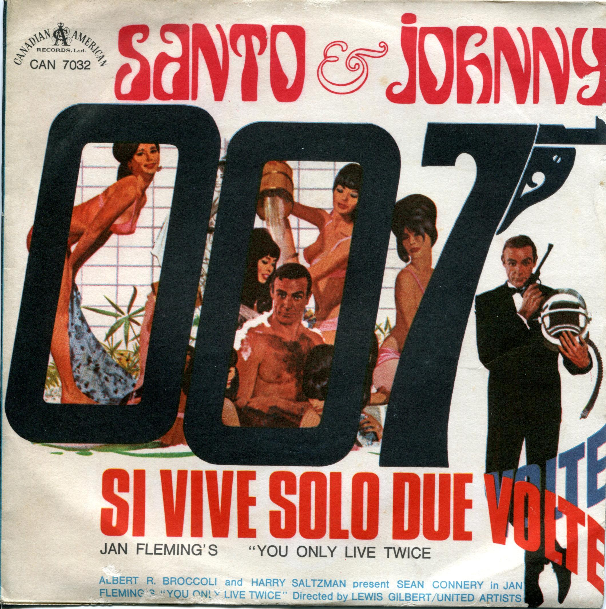 Santo and Johnny Si Vive Solo Due Volte