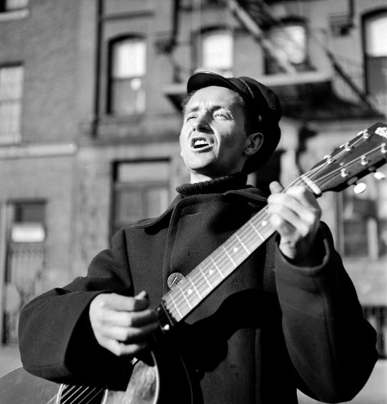 Woody Guthrie 1950 New York